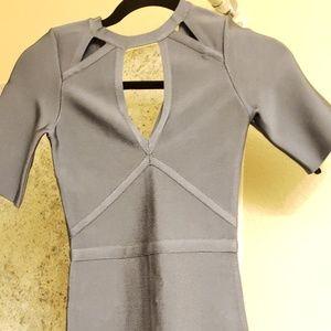 Bebe bandage dress XXS NEW